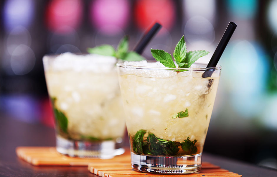 Lemongrass Mint Julep
