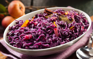 Red Apple Braised Cabbage