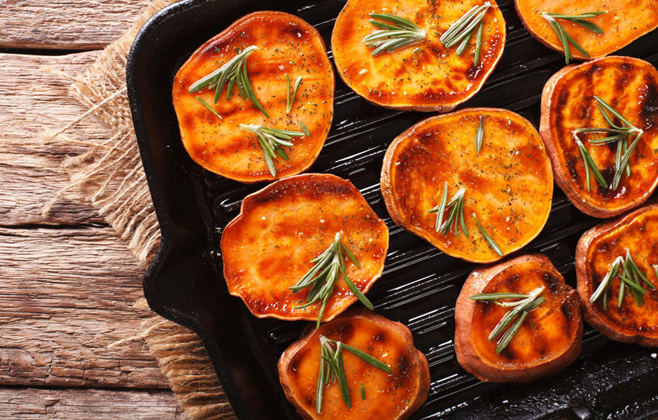 Rosemary Roasted Sweet Potato