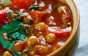 Olive & Chickpea Stew