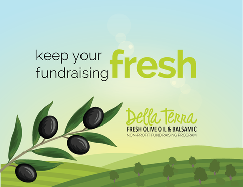 Della Terram Olive Oil Fundraising Program