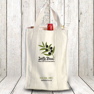 Della Terra Cotton Re-Usable Bottle Bag