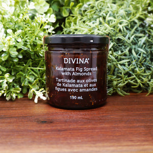 Divina Kalamata Fig Spread with Almonds