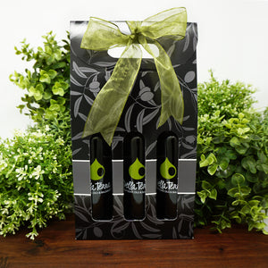 Della Terra - A la Carte - 3 x 200ml Bottle Olive Oil and Balsamic Gift Pack