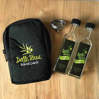 Della Terra Oil and Balsamic Travel Pack