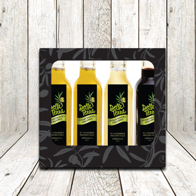 Della Terra A La Carte Olive Oil and Balsamic Tasting Gift Pack