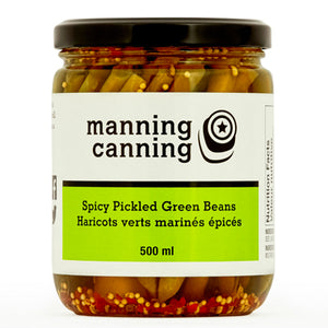 Manning Canning Spicy Pickled Green Beans