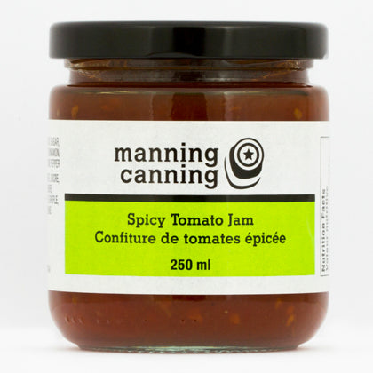 Manning Canning Spicy Tomato Jam