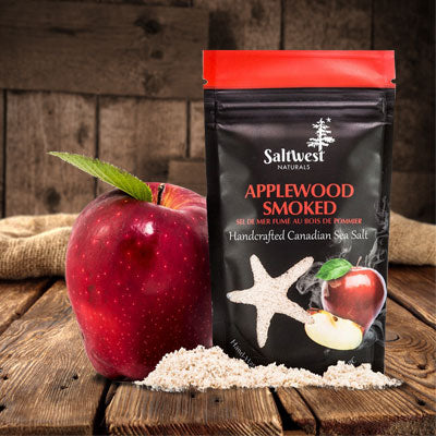 Della Terra Saltwest Applewood Smoked Salt