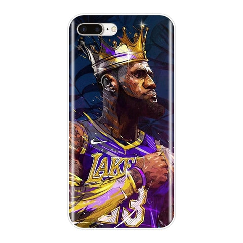 #LeBronJames KingCrown iPhone Case