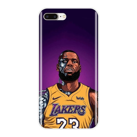 #LeBronJames Terminator iPhone Case