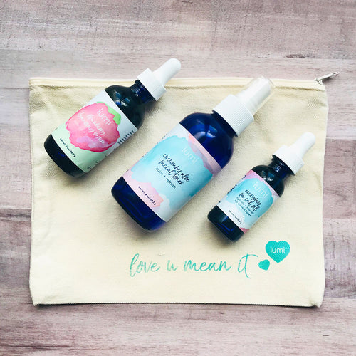 lumi basics holiday gift set