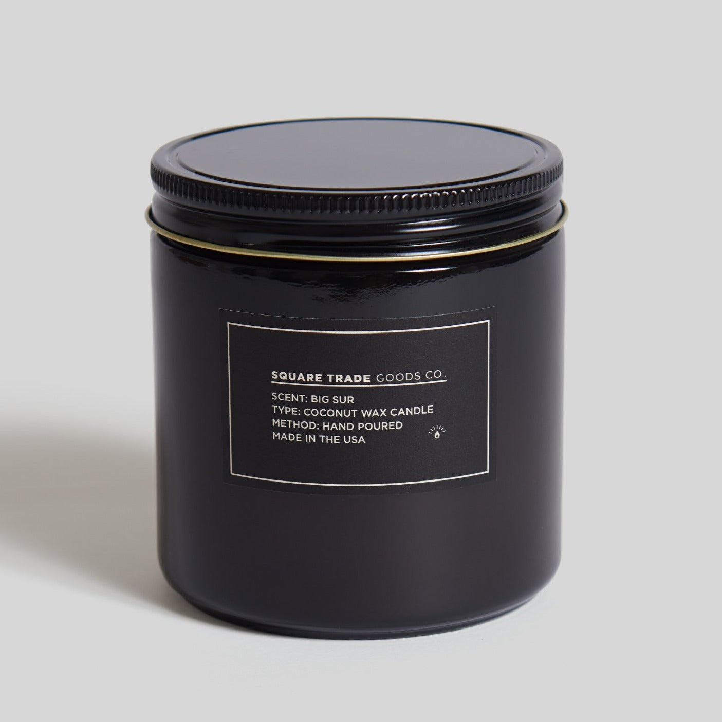 Square Trade Goods 16 oz Candle - Big Sur