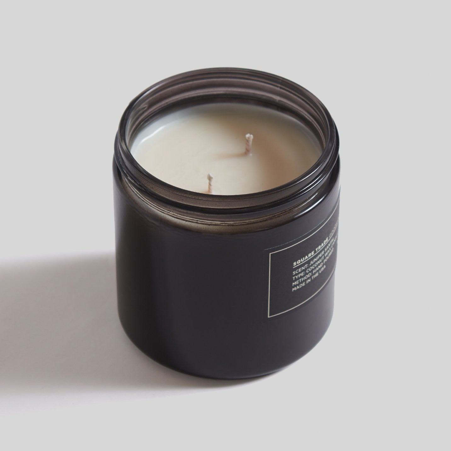 Square Trade Goods 16 oz Candle - Juniper Santal