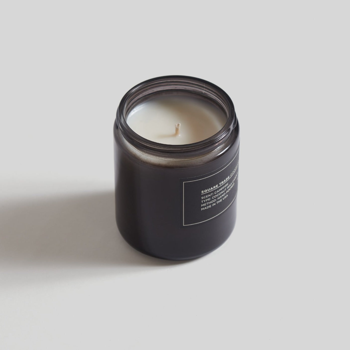 Square Trade Goods 8 oz Candle - Campfire
