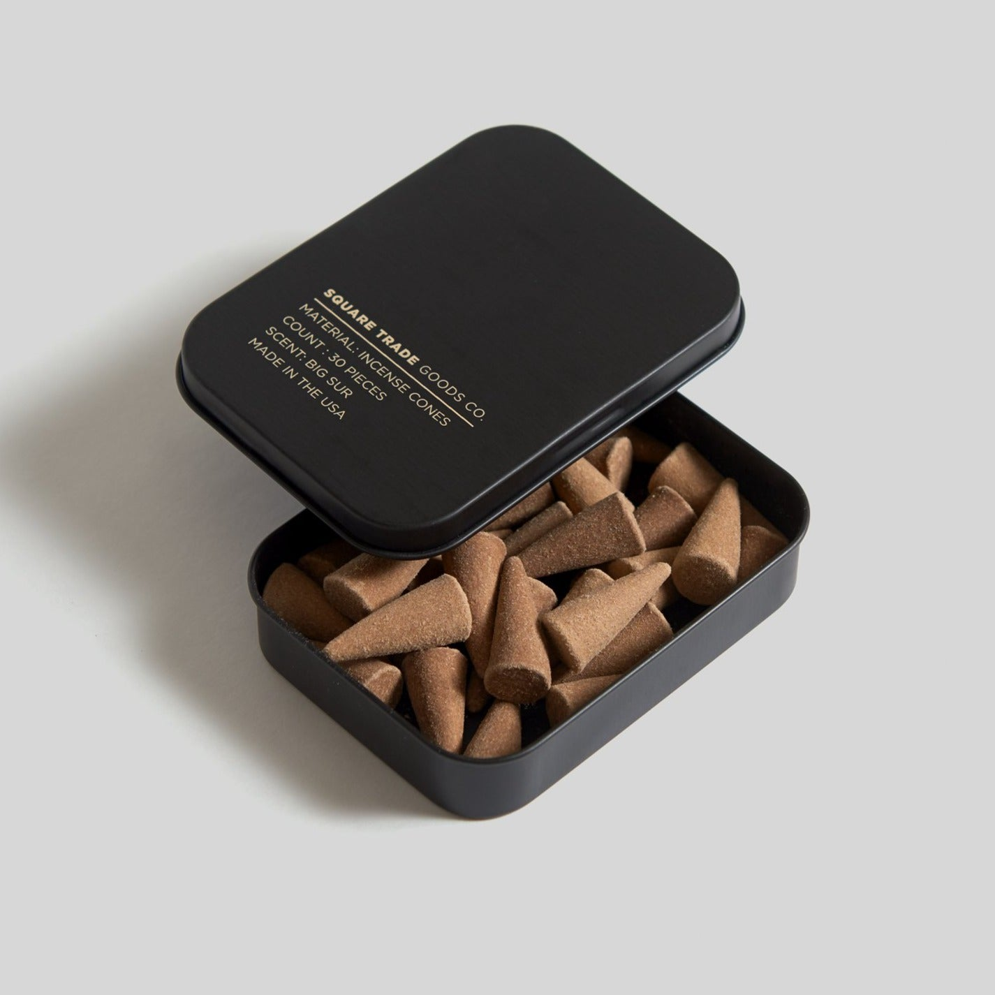 Square Trade Goods Incense Cones - Big Sur