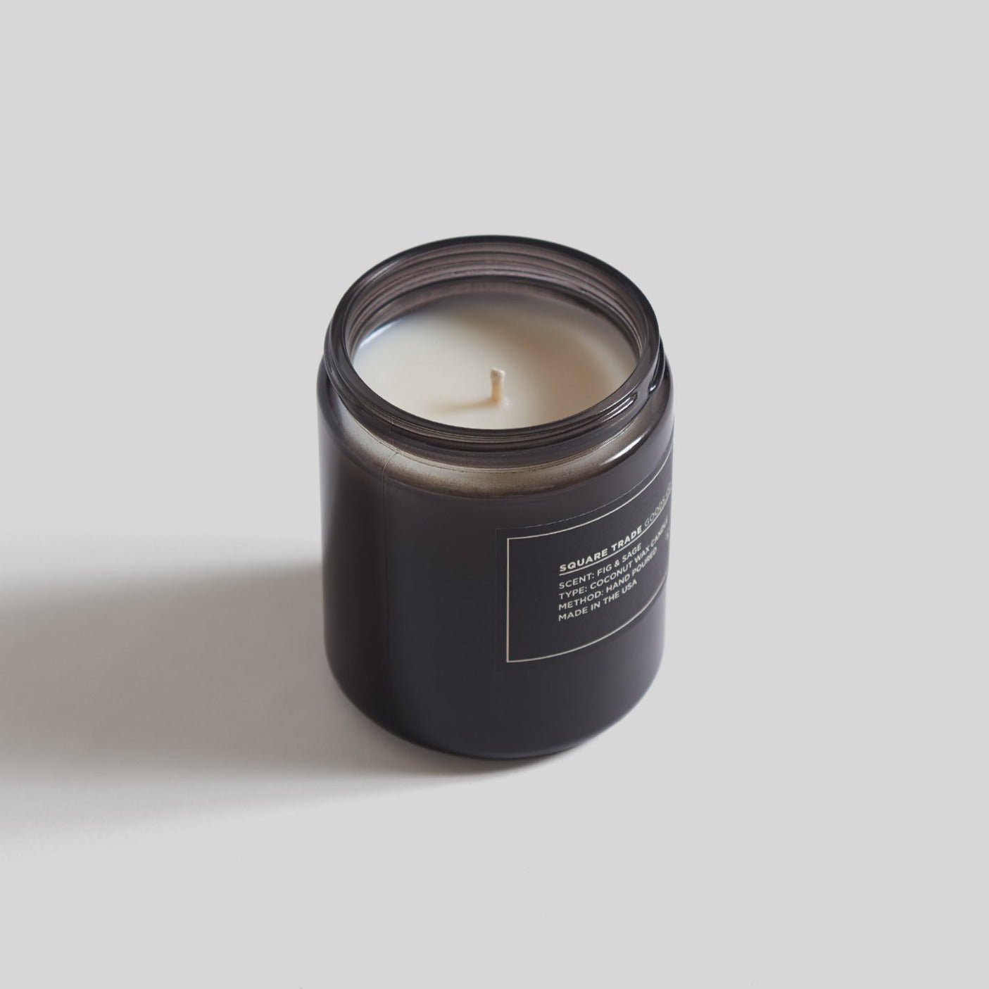 Square Trade Goods 8 oz Candle - Fig & Sage