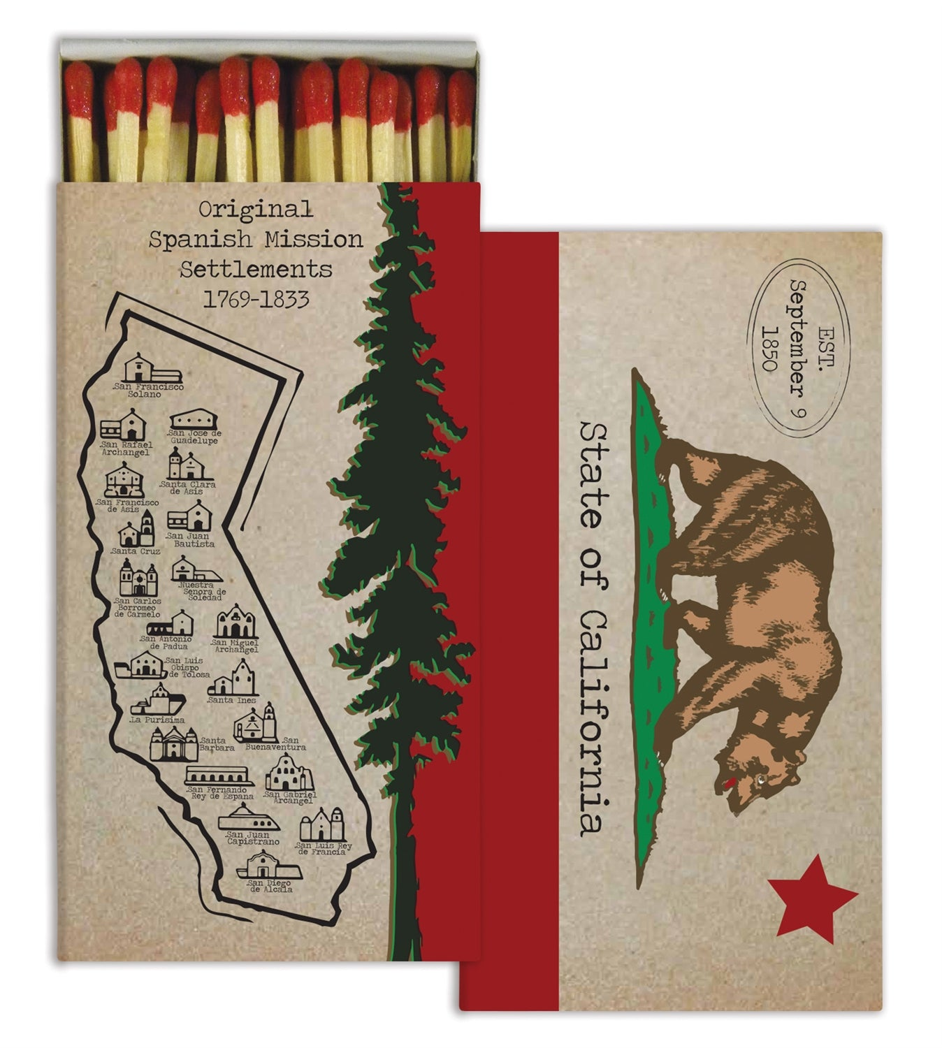 Matches - California