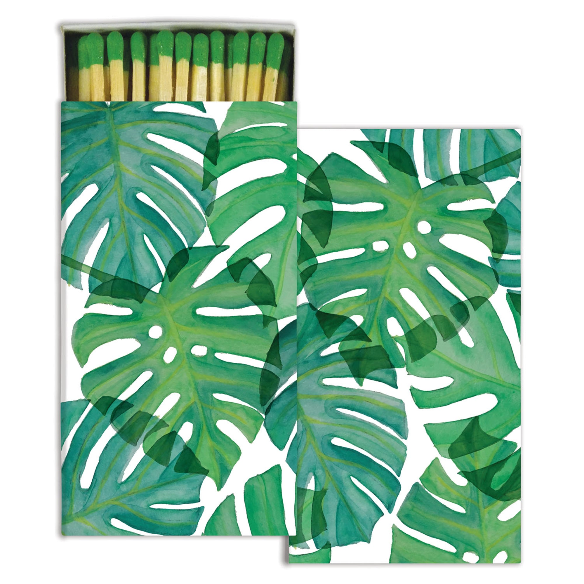 Matches - Monstera Leaf - Green