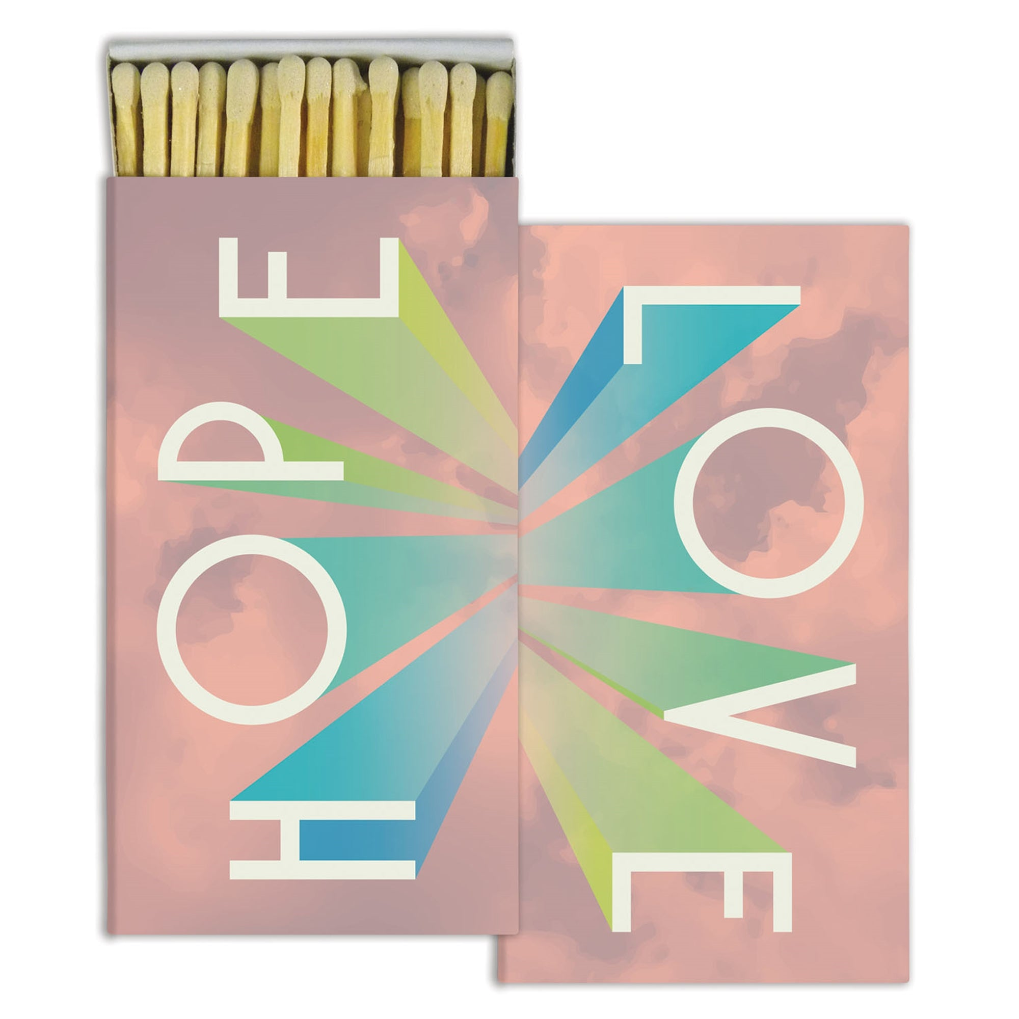 Matches - Hope, Love - White - CARLYLE AVENUE