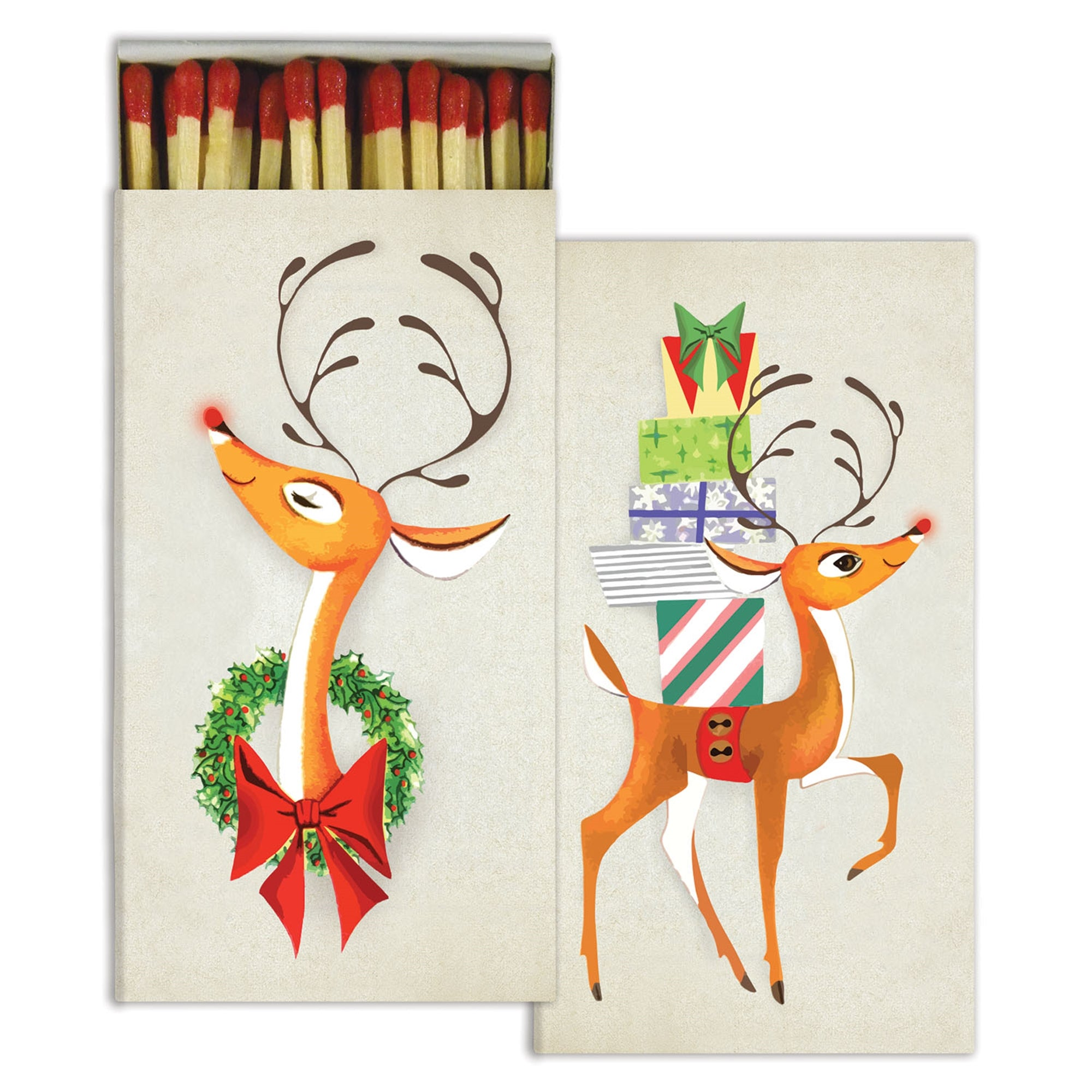 Matches - Rudolph - Red