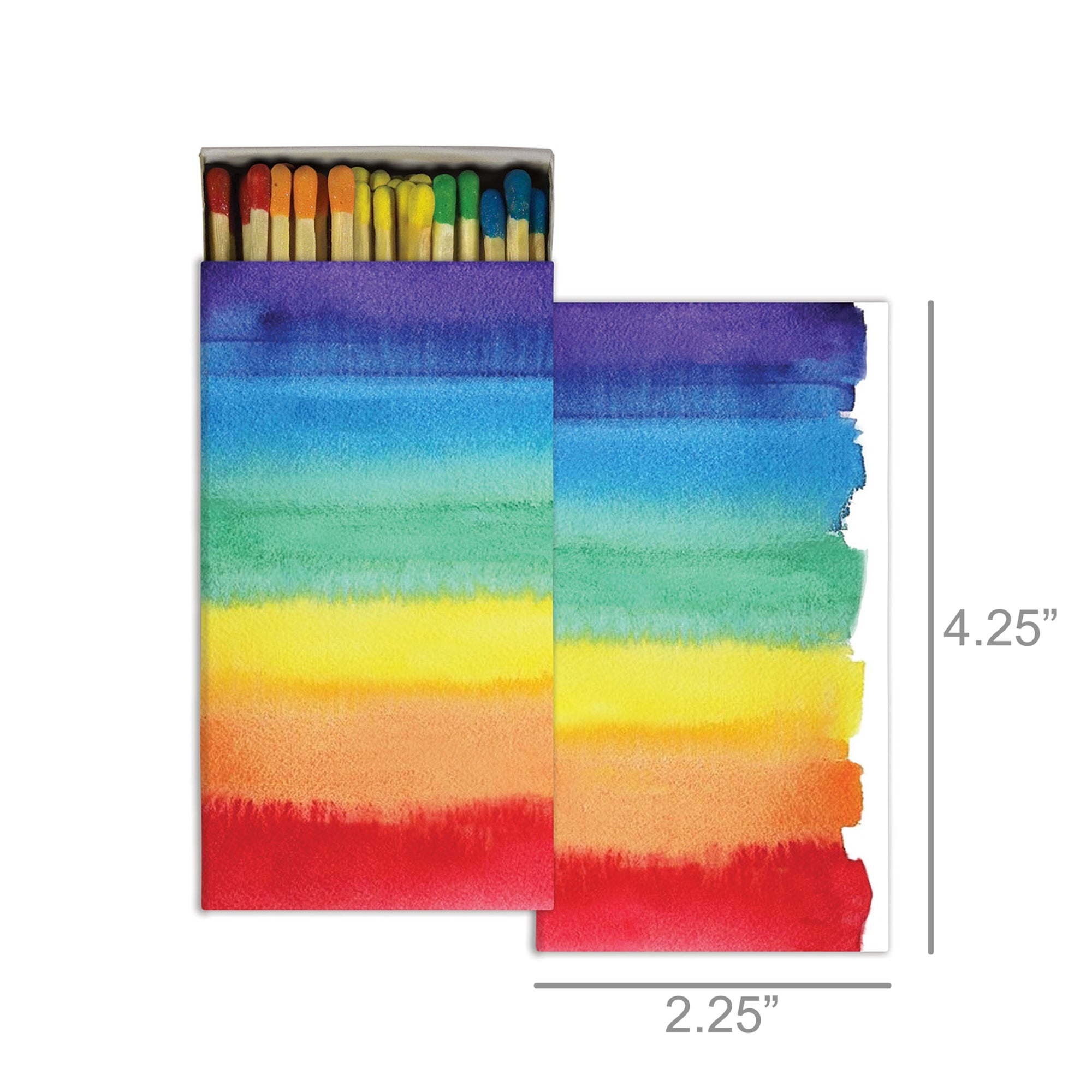 Matches - Watercolor Rainbow - Rainbow