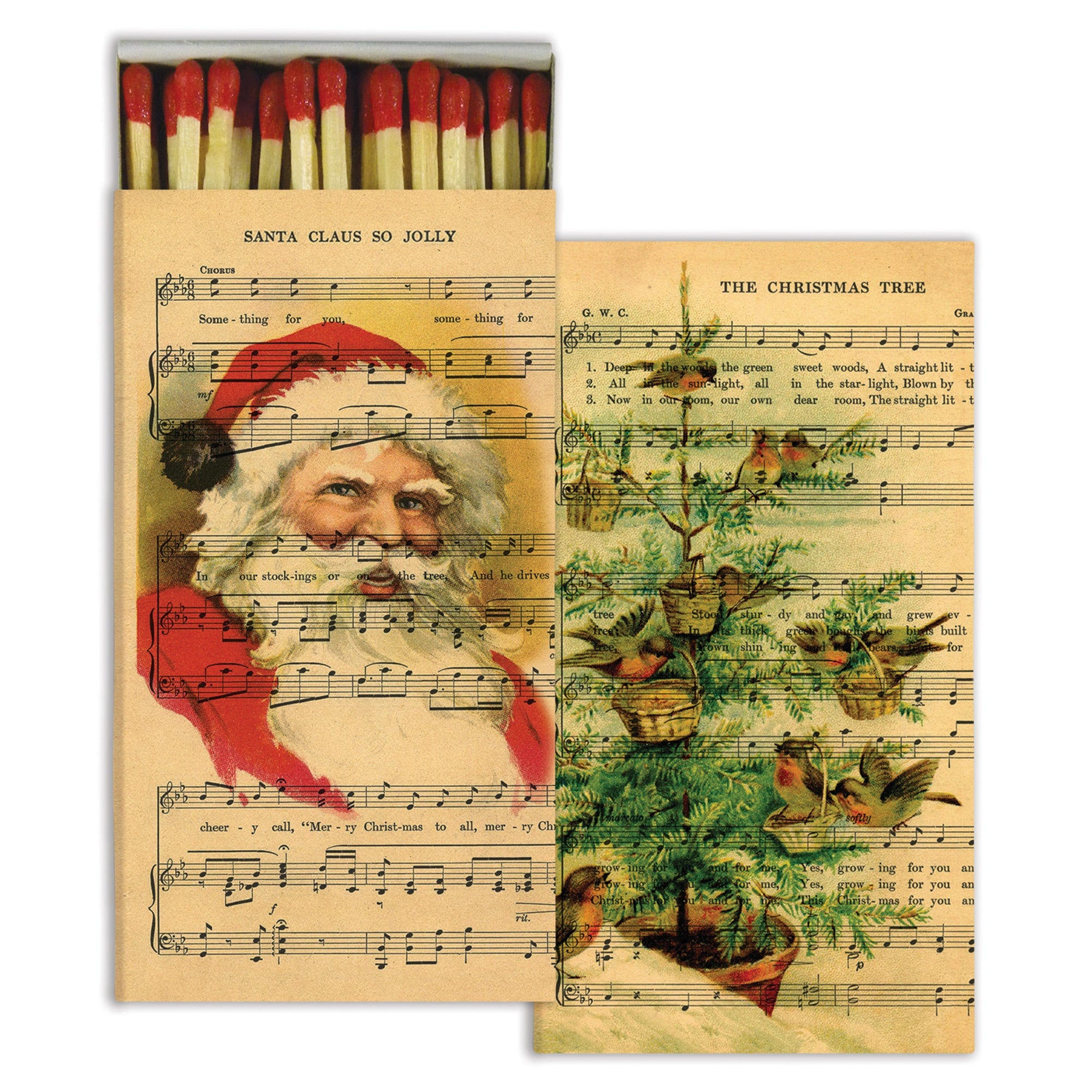 Matches - Holiday Sheet Music - Red