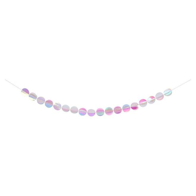 Iridescent Paper Garlands - CARLYLE AVENUE