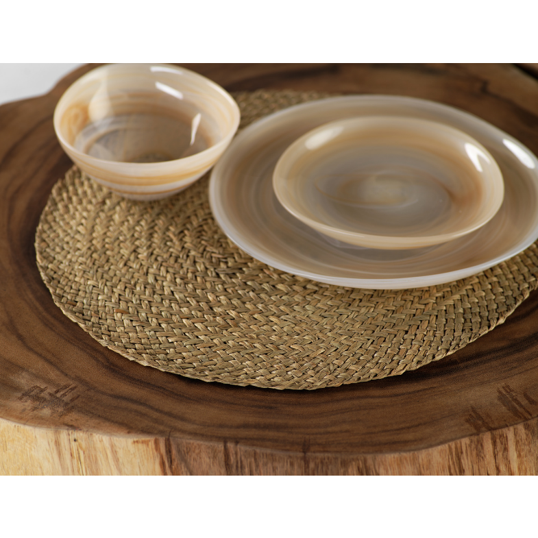 Mendong Natural Placemat - Set of 6 - CARLYLE AVENUE