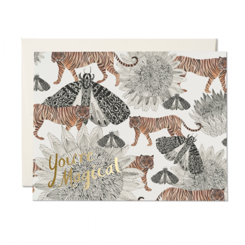 Magical Tigers FOIL Encouragement Card - CARLYLE AVENUE