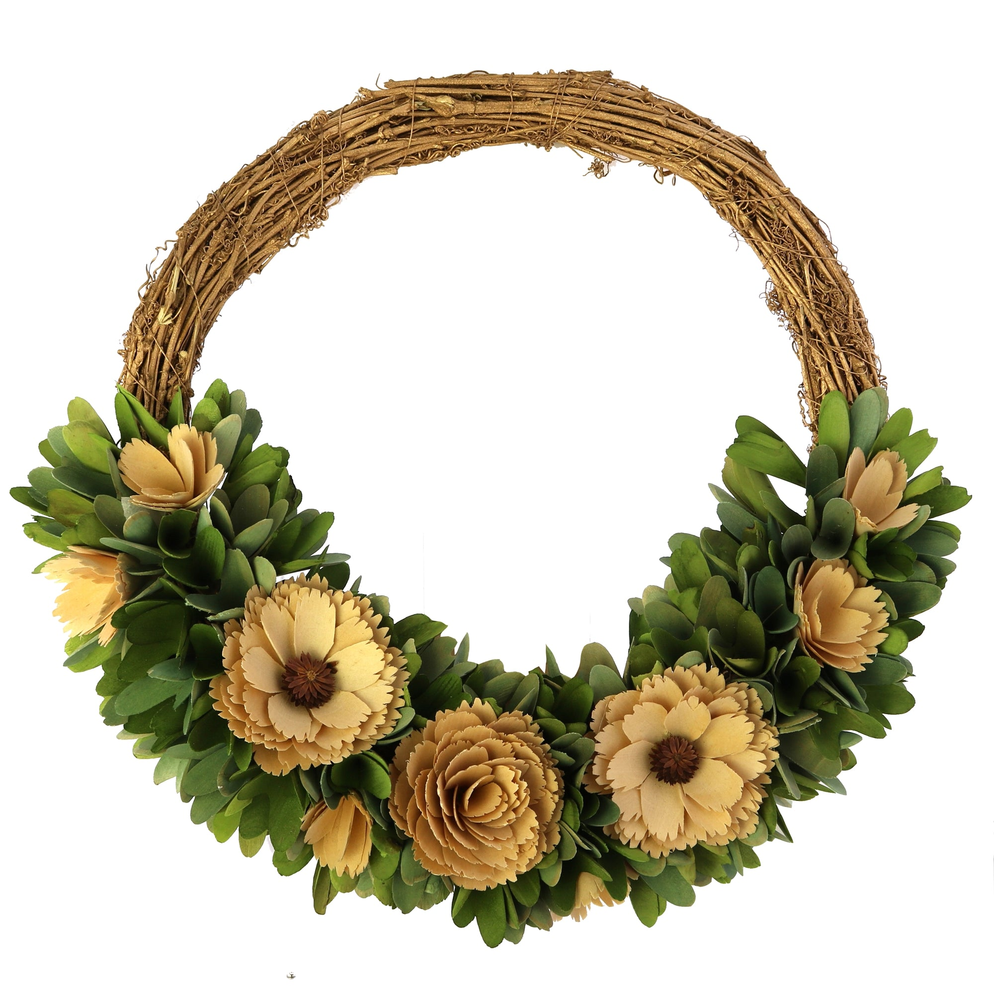 Wood Shaving Wreath - CARLYLE AVENUE