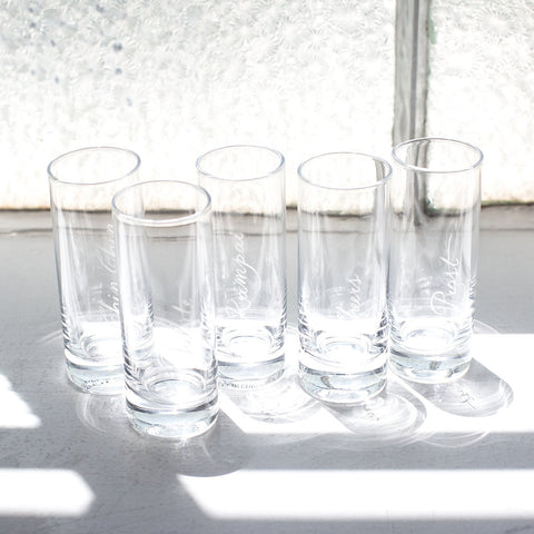 Celebration Shot Glasses - Set of 6