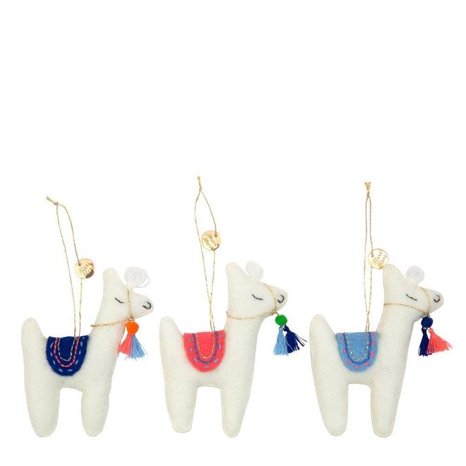 Llama Tree Decoration Set - CARLYLE AVENUE