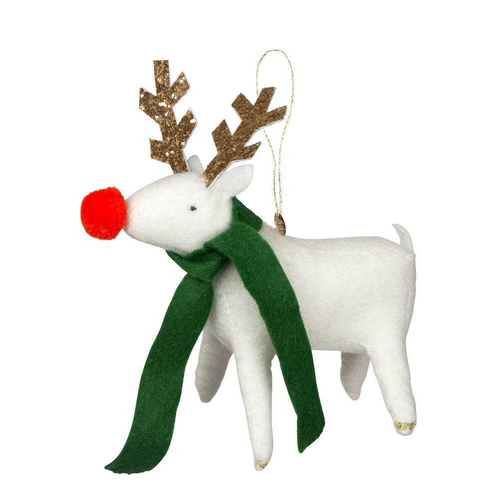 Reindeer Felt Tree Decoration - CARLYLE AVENUE