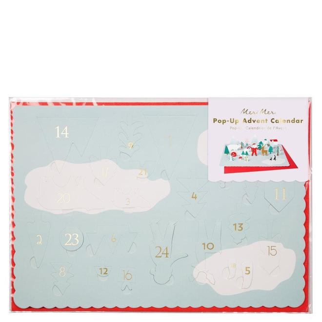 Santa Scene Advent Calendar - CARLYLE AVENUE
