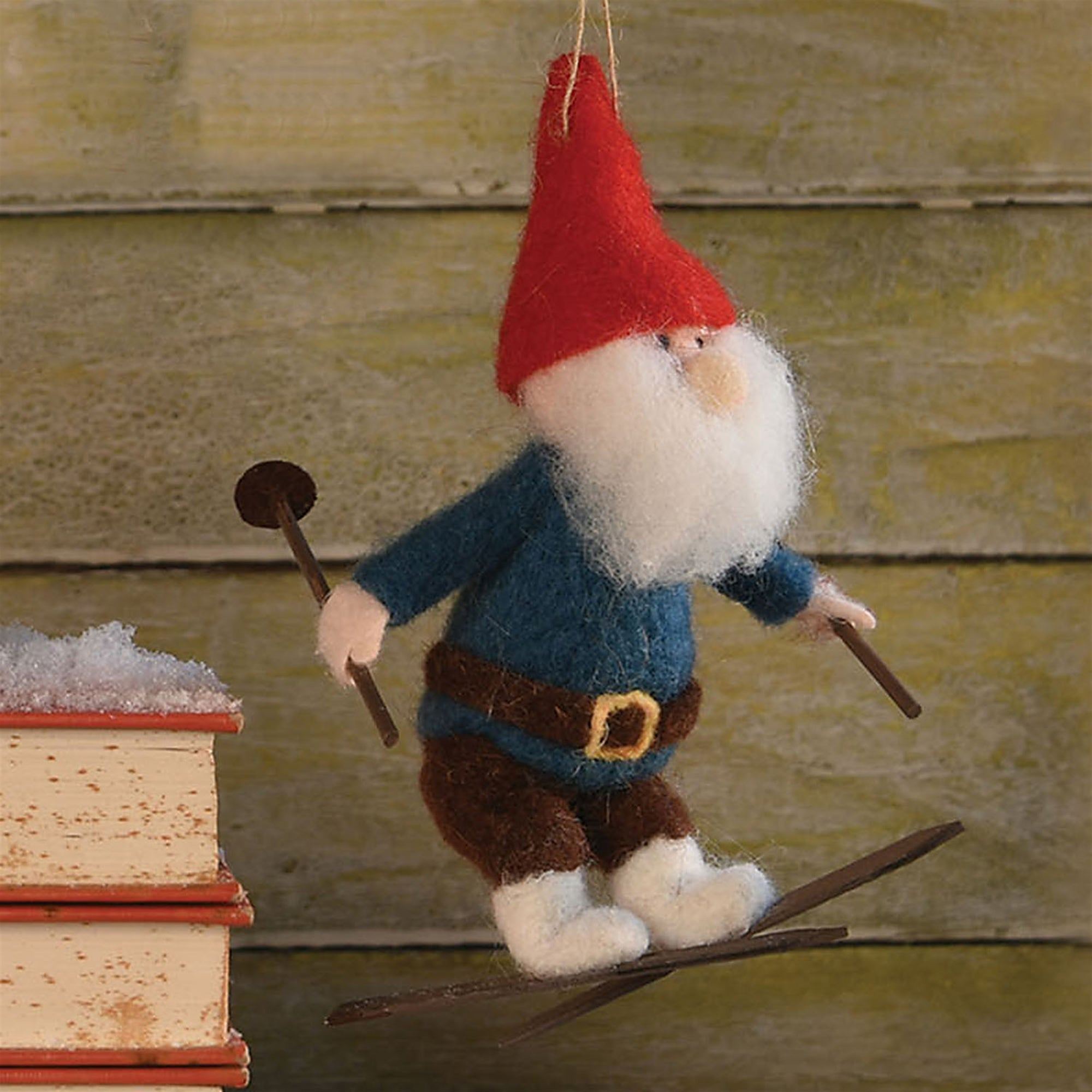 Felt Gnome Ornaments - Set of 3 - CARLYLE AVENUE