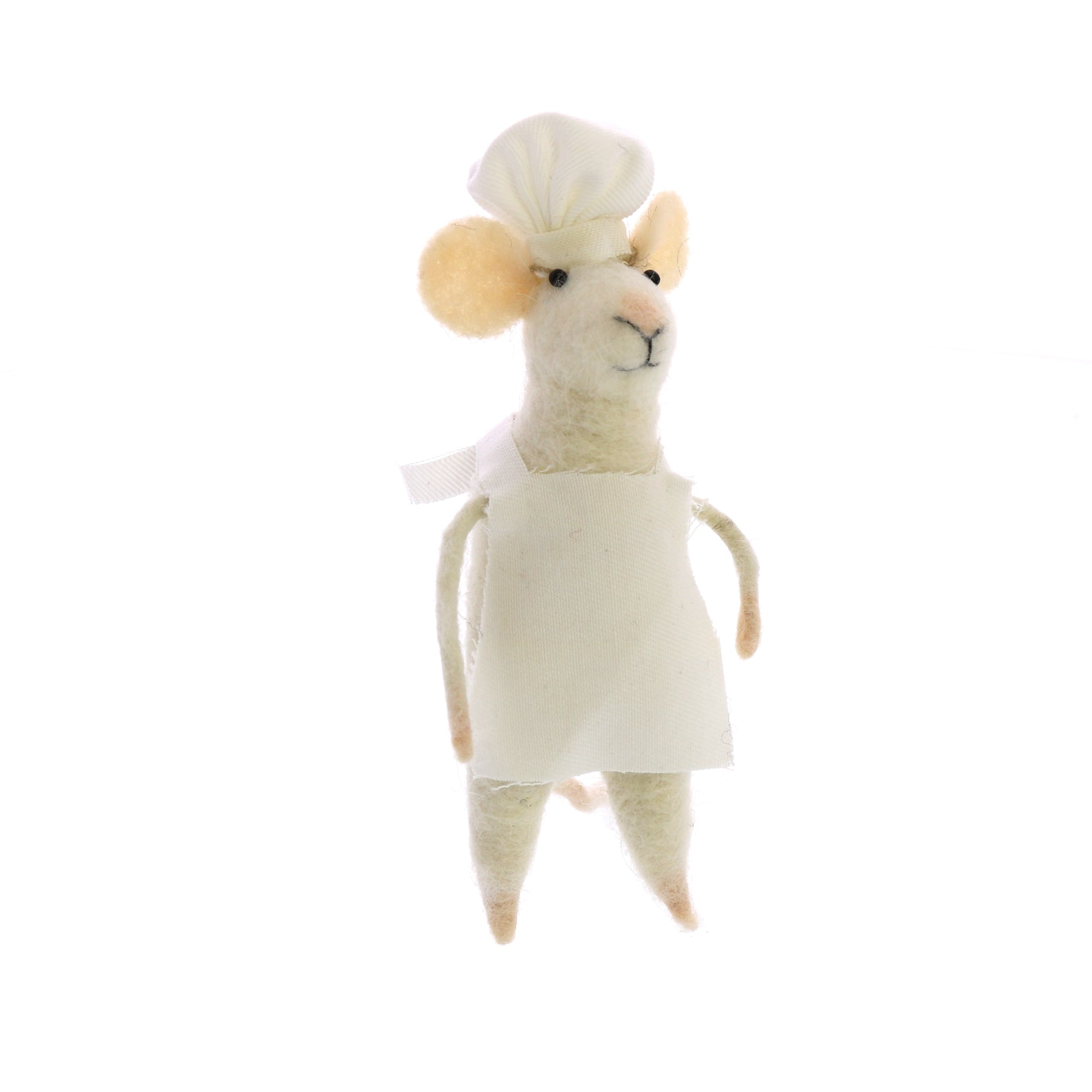 Felt Chef Mouse - CARLYLE AVENUE