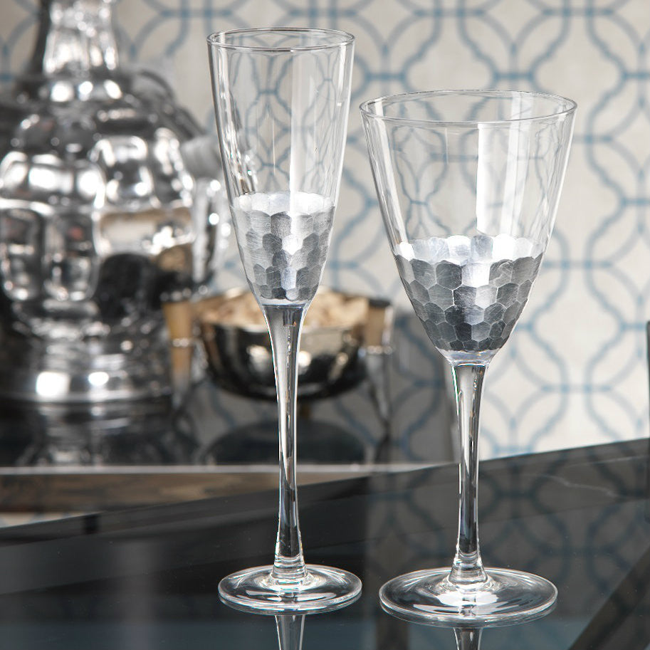 Barclay Butera Fez Stemware - Set of 4 - CARLYLE AVENUE