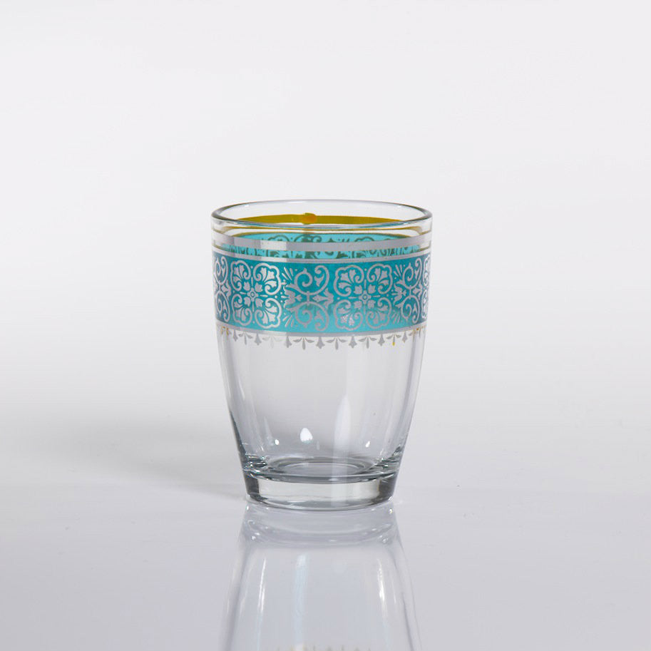 Casablanca Small Glass Tealight Holders - Set of 12 - CARLYLE AVENUE