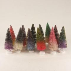 Glitter Ombre Trees