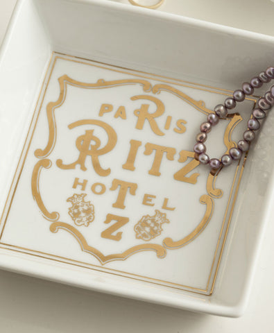 Belle Boudoir Paris Ritz Hotel Tray