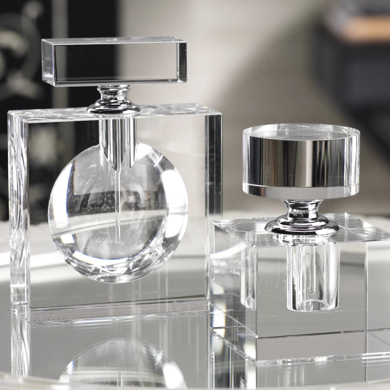 Modern Morocco Glass Perfume Bottles -  - CARLYLE AVENUE - 4