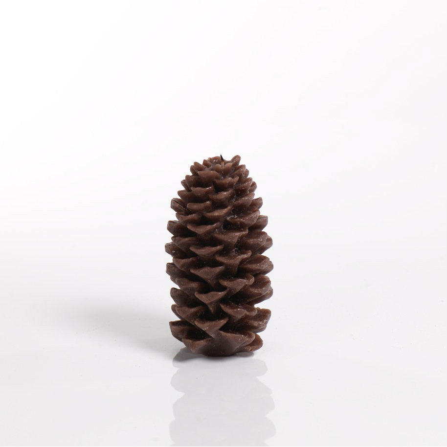 Pine Cone Candle - Brown - Set of Four -  - CARLYLE AVENUE - 3