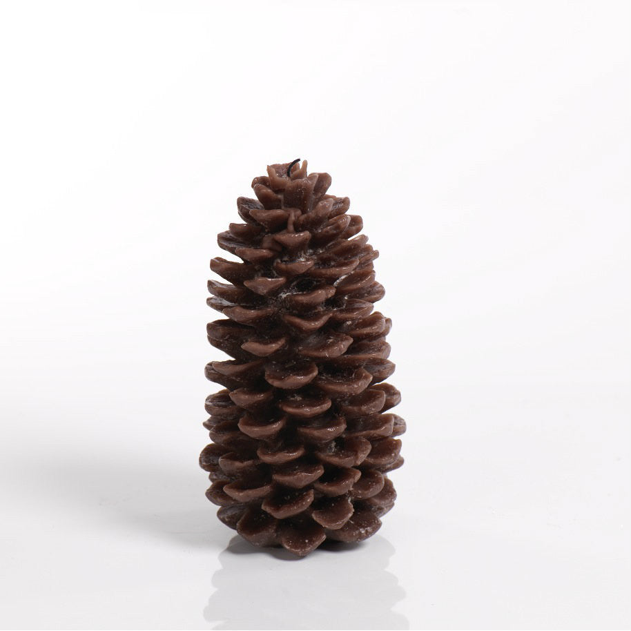 Pine Cone Candle - Brown - Set of Four -  - CARLYLE AVENUE - 4