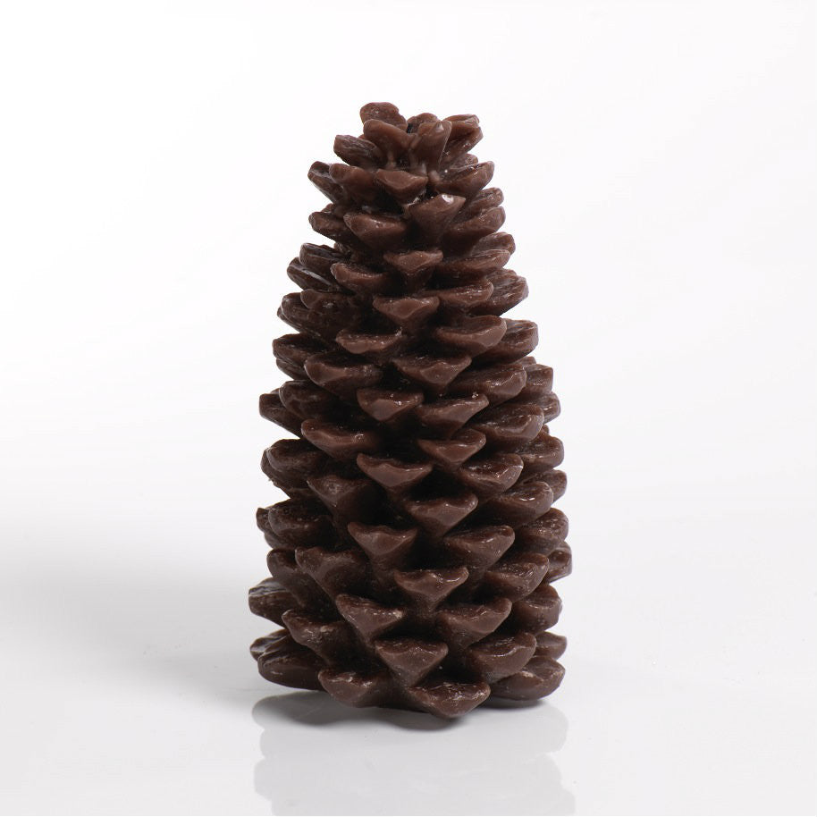 Pine Cone Candle - Brown - Set of Four -  - CARLYLE AVENUE - 5