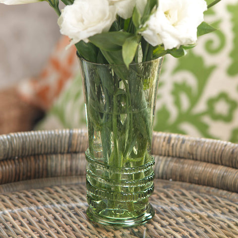 Prague Recycled Glass Vase / Tumbler - Set of 4