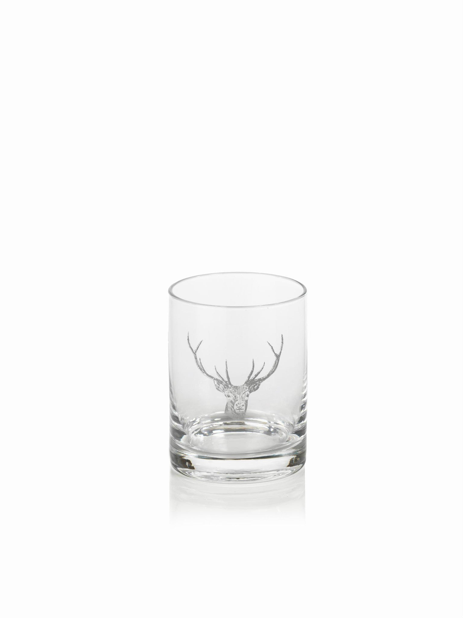 Stag Head Pitcher and Glassware - DOF Glasses-Set/6 - CARLYLE AVENUE - 3