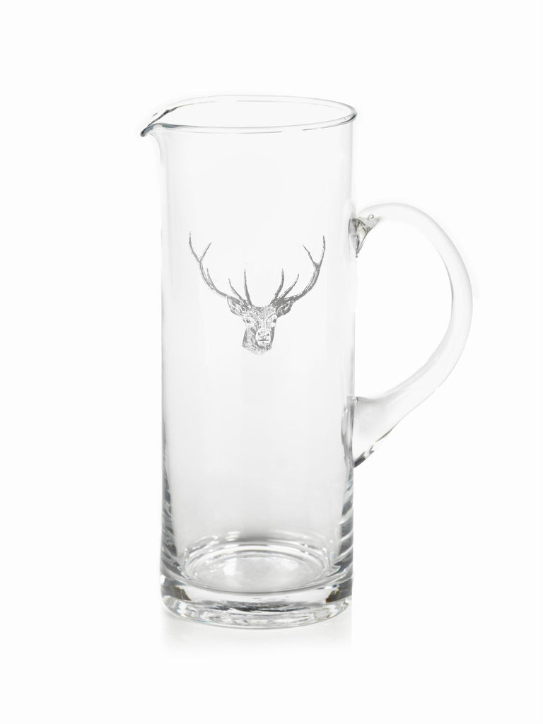 Stag Head Pitcher and Glassware - Pitcher - CARLYLE AVENUE - 2