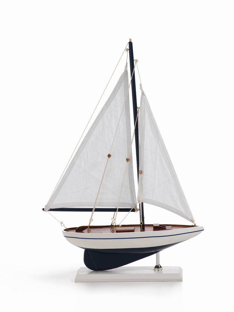 Milos Sailboat - White Sails - CARLYLE AVENUE - 2