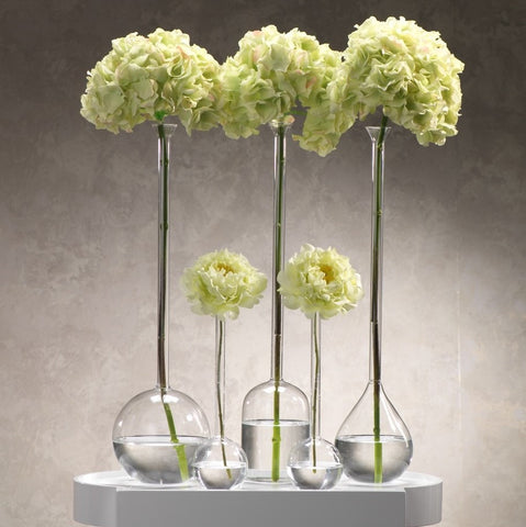 Single Ball Glass Vase